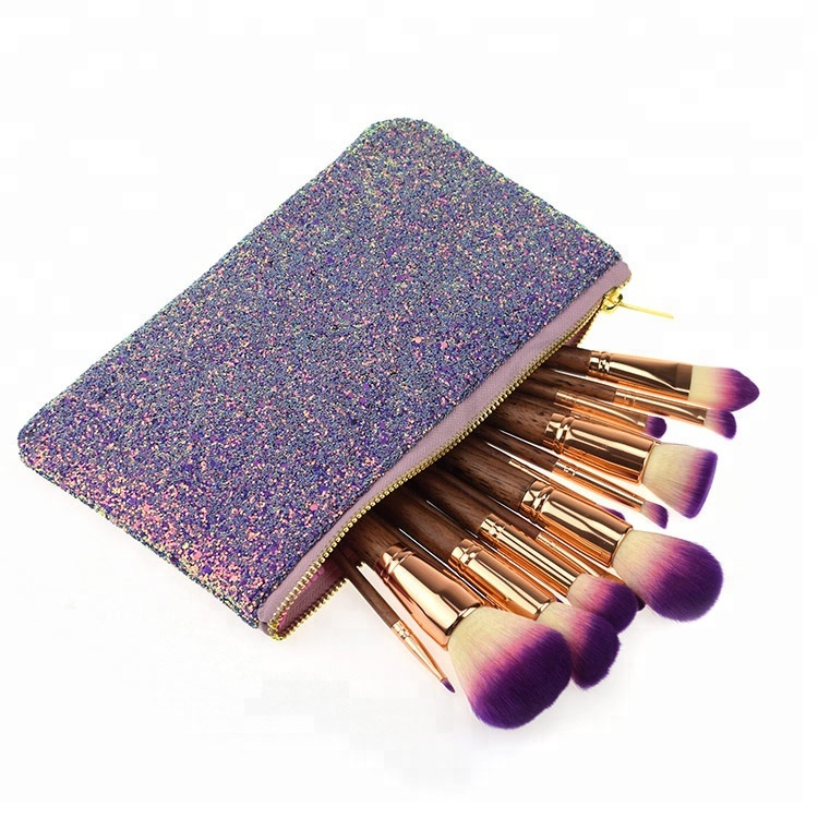 <strong>Best</strong> sellers 17PCS glitter <strong>brush</strong> makeup high quality
