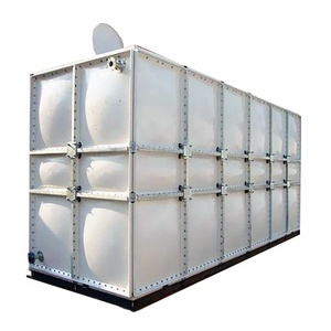 High quality GRP/SMC/FRP fiberglass fish farm module water tank