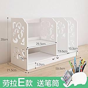 Freestanding Book Shelf / Desk Top Organization, Office table bookshelf organizer,little bookshelf creative Racks,children organize rack / shelf ,D, 603521cm