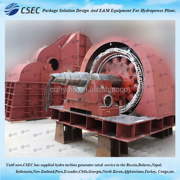 Pelton Wheel Generator/Impulse Water Turbine Generator