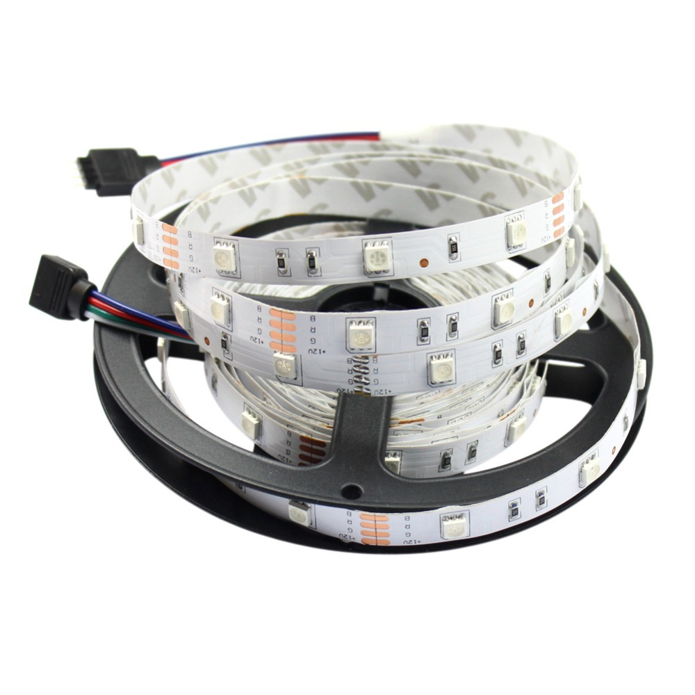 GoesWell LED Strip Light 5050 DC12V 30 LED Flexible Light White/Warm White/Green/Blue/Red/Yellow/RGB Density Strip 10M/Lot
