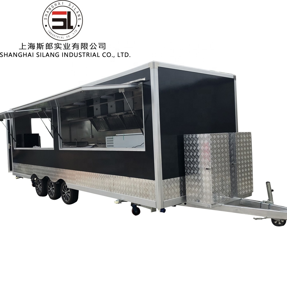 silang hot sale food trailer for sale crepe/ice cream/hot dog/<strong>chicken</strong>