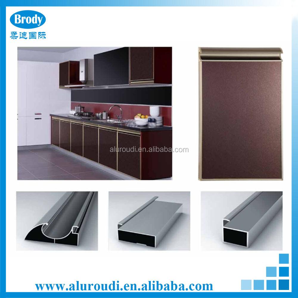 Modulaire keuken kast aluminium muur opknoping keuken kasten ...