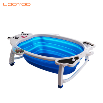 New design cheap price pp material baby shampoo bathtub bebe foldable for sale