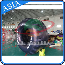 Inflatable Wheels Model / 2mH PVC Tarpaulin Inflatable Tires For Outdoor Advertising