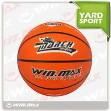 New products custom cheap rubber basketball official size 3 orange basketball