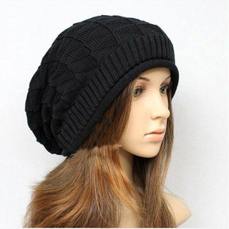 Beanies Twist Pattern Women Winter Hat Knitted Sweater Fashion Hats ...