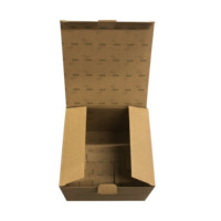 Recyclable Kraft Brown Corrugated Board Printed Subscription Mailer Boxes