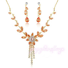 New arrival luxury new design jewelry sets for girls