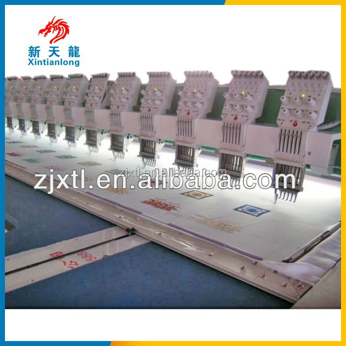 615*250*500*1200 Flat Embroidery Machine