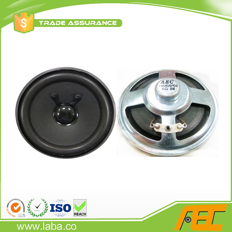 Best Quality 3 inch Loudspeaker 8ohm 2w Micro Speaker Parts for Guitar