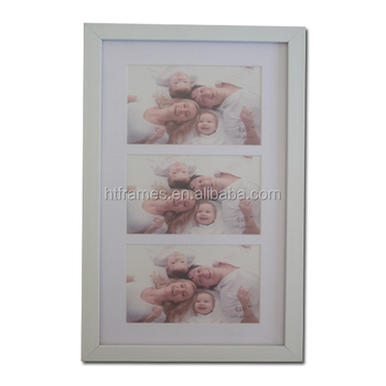 White Collage Photo Frame With 3 Openings 4x6 Buy Collage Photo
