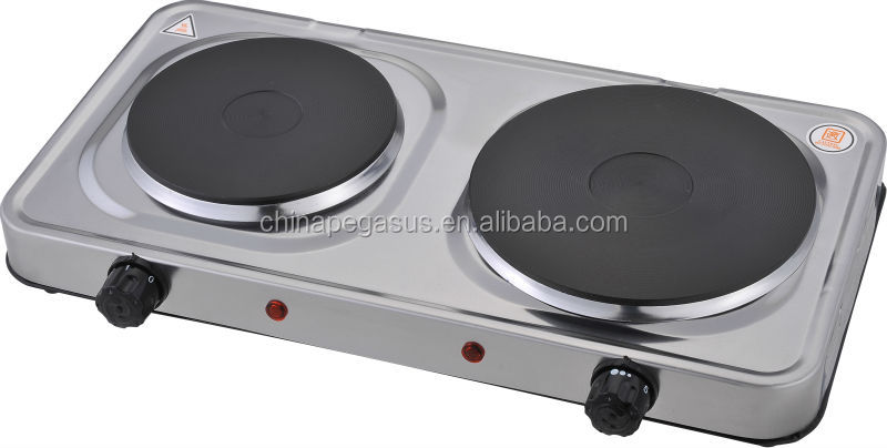 stainless electronic hot plate 2500W