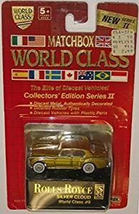 Matchbox World Class - Rolls Royce Silver Cloud #9 Series II