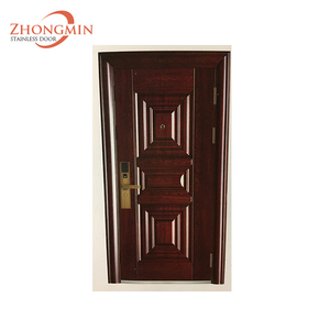ghana Commercial used designs bullet proof main safety iron cheap steel door