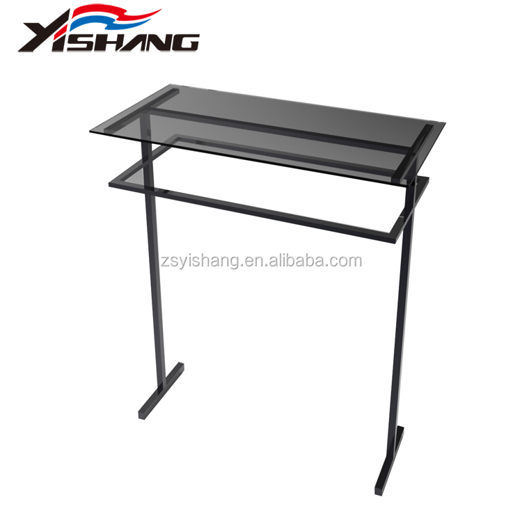 China supplier modern clothing store display tables