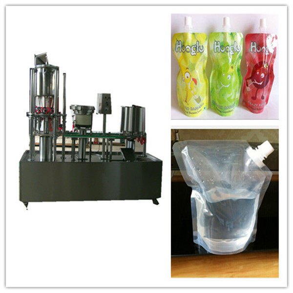 soy bean milk doypack filling capping small size packaging machinery