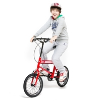 Adjustable height 16 inch children bicycle for 10 years old child