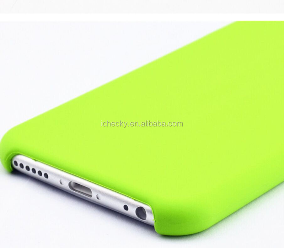 2016 New Liquid Silicone Rubber Case for iPhone 7 same as Apple Store's