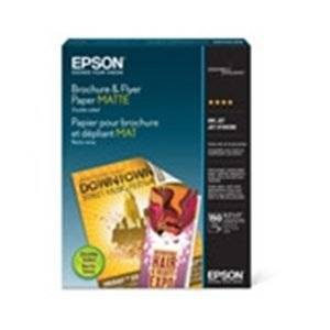 "Epson S042384 Brochure/Flyer Paper . Matte ""Product Type: Supplies/Printing Media"""