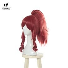 Женский волос для косплея ROLECOS Prestige Edition, синтетический конский хвостик(Китай)