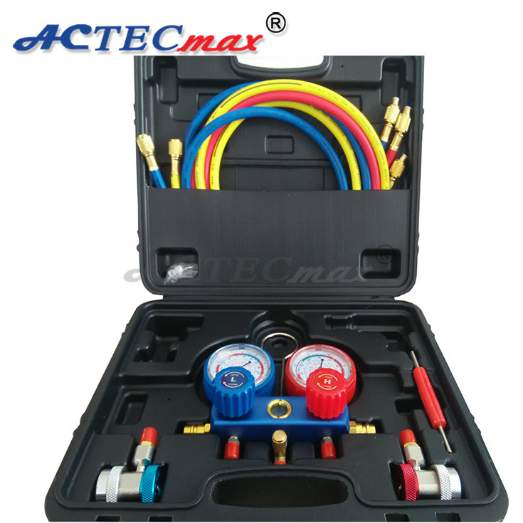Air Conditioning Tool Kit, R134a Manifold Gauge Set