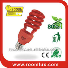 corlor Compact fluorescent lamp E27&B22 energy saving lamp half spiral full spiral Energy Saver Bulbs