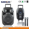 SHIER professional good quality pa sound system for singing table speaker with rechargeable battery