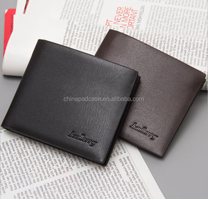 Factory direct wholesale Ultra Slim simple design Men wallets/High quality Good Buy hot selling Soft PU leather men's wallets