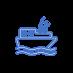 3D รองเท้าพวงกุญแจ Crocs Key Chain Clog Sandal Party โปรดปรานโซ่น่ารัก BD1889