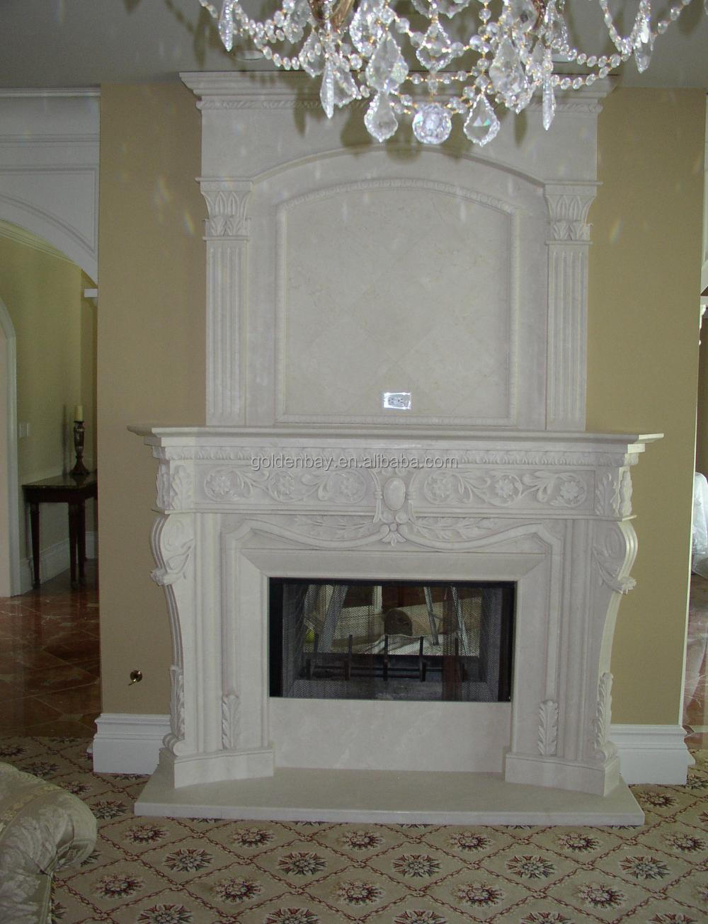Beige Marble Fancy Fireplace French Style Fancy Fireplace Mantel Buy Fancy Fireplace Fireplace