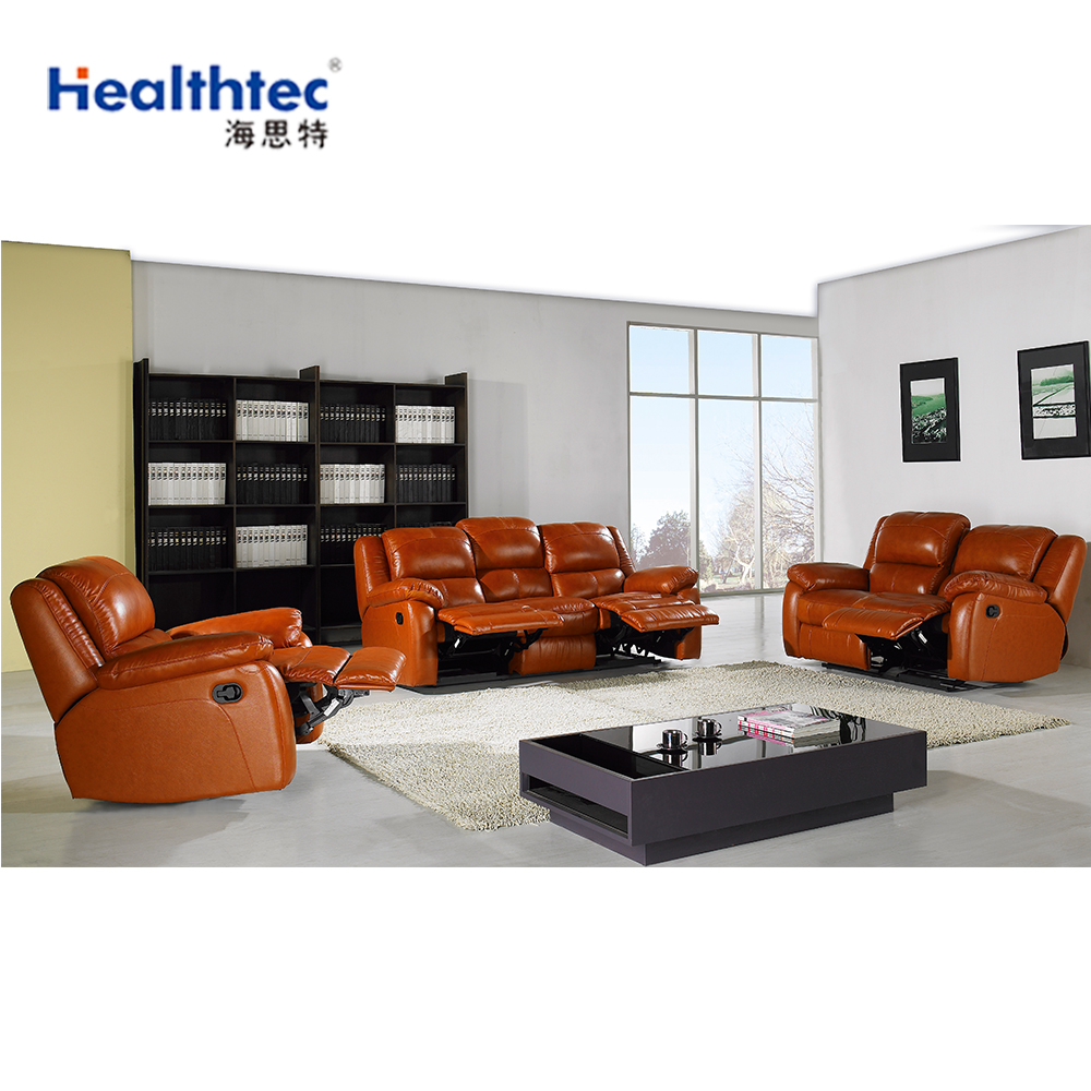 3 Seater Recliner Kuka Leather Sofa Bed