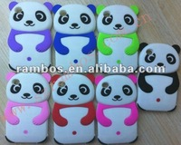Cute panda silicone cartoon soft cover case for IPod Touch 4