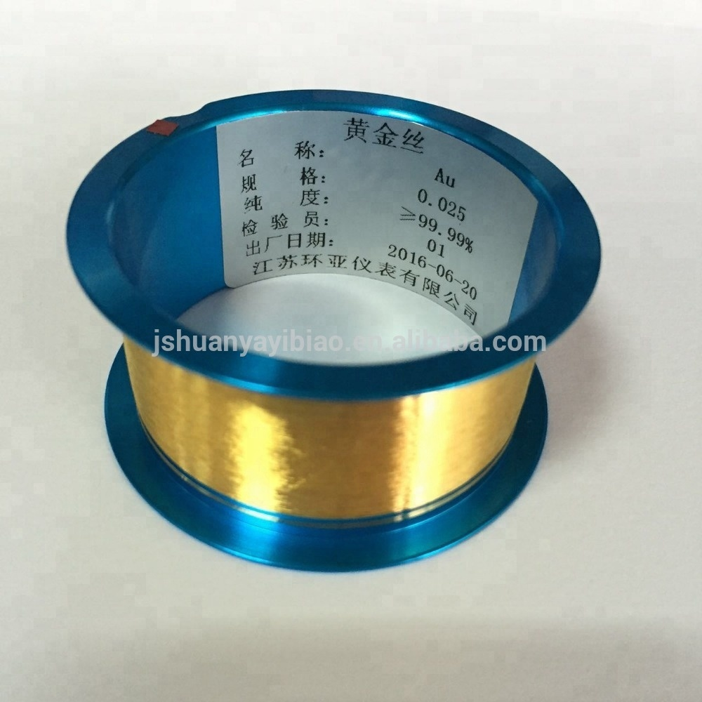 1 mil 99.99% pure Au nobel metal gold boding <strong>wire</strong>