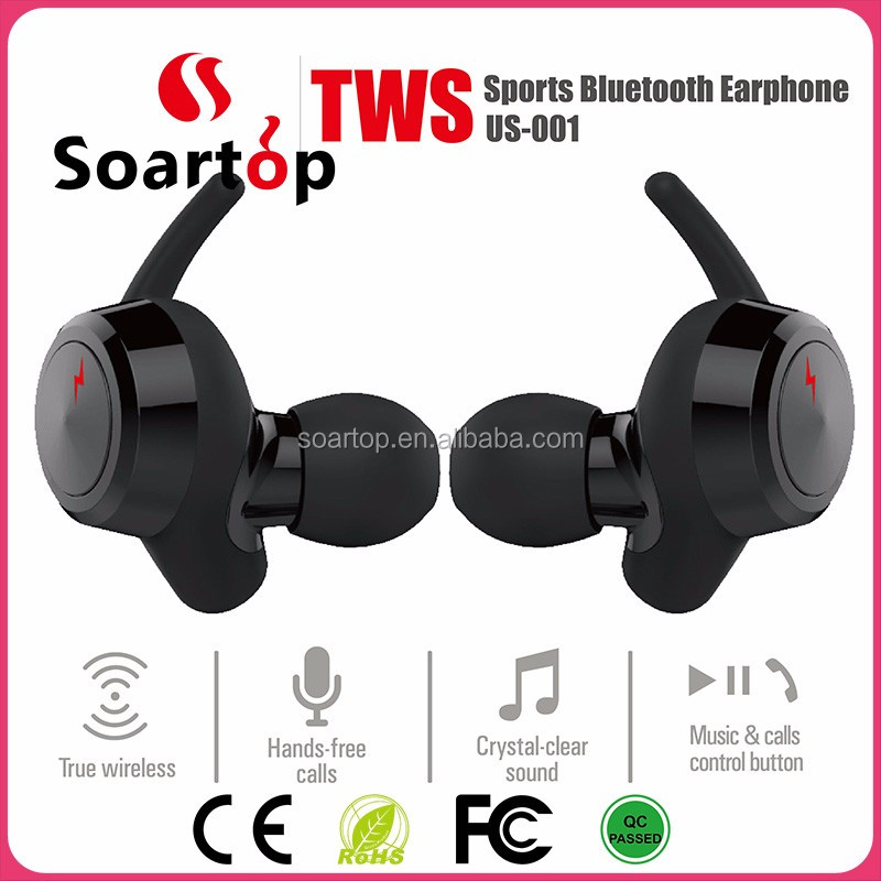 easy to carry portable mini bluetooth earphone with micrphone