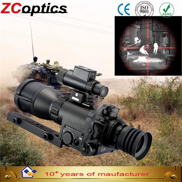 hot saling 4.4x Gen2+/3 night vision scope airsoft with long range shooting for hunter binoculare