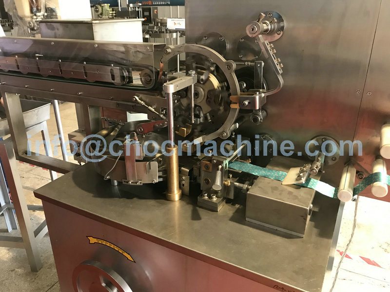 chocolate foil wrapping machine