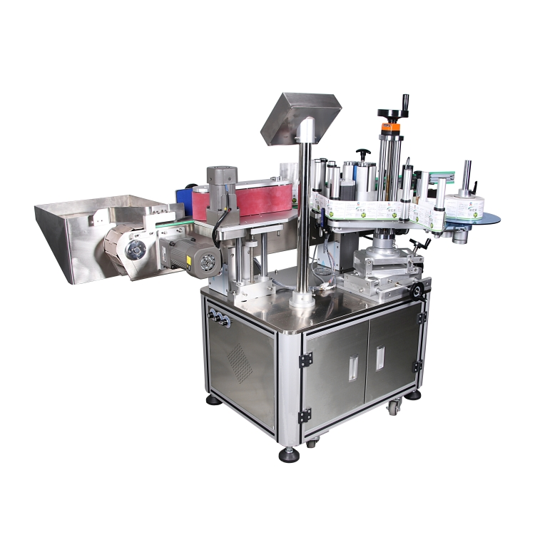 China manufacturer customized double sides automatic high speed bottle labeling machine