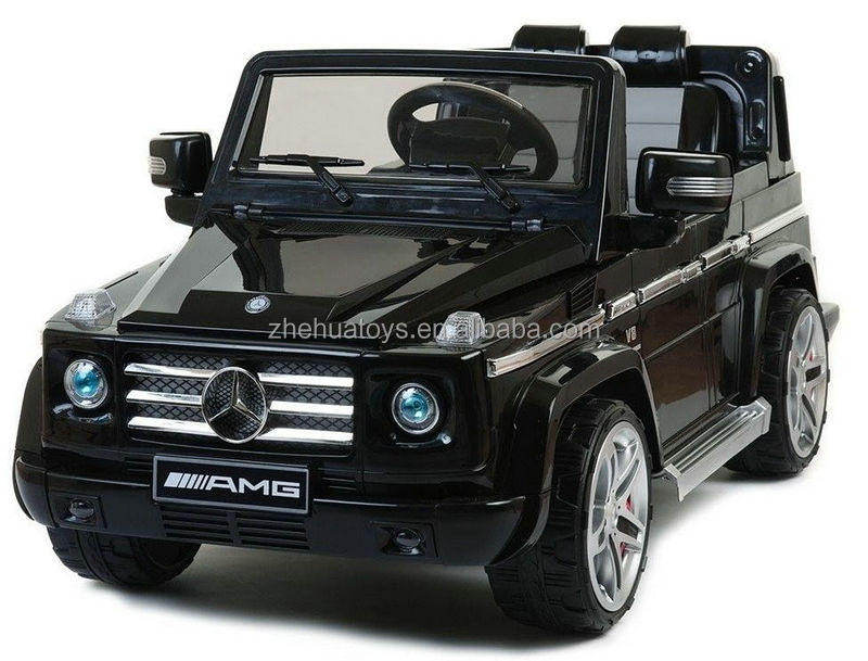 mercedes benz g55 amg license car 12v kids electric car ride on car in balack color