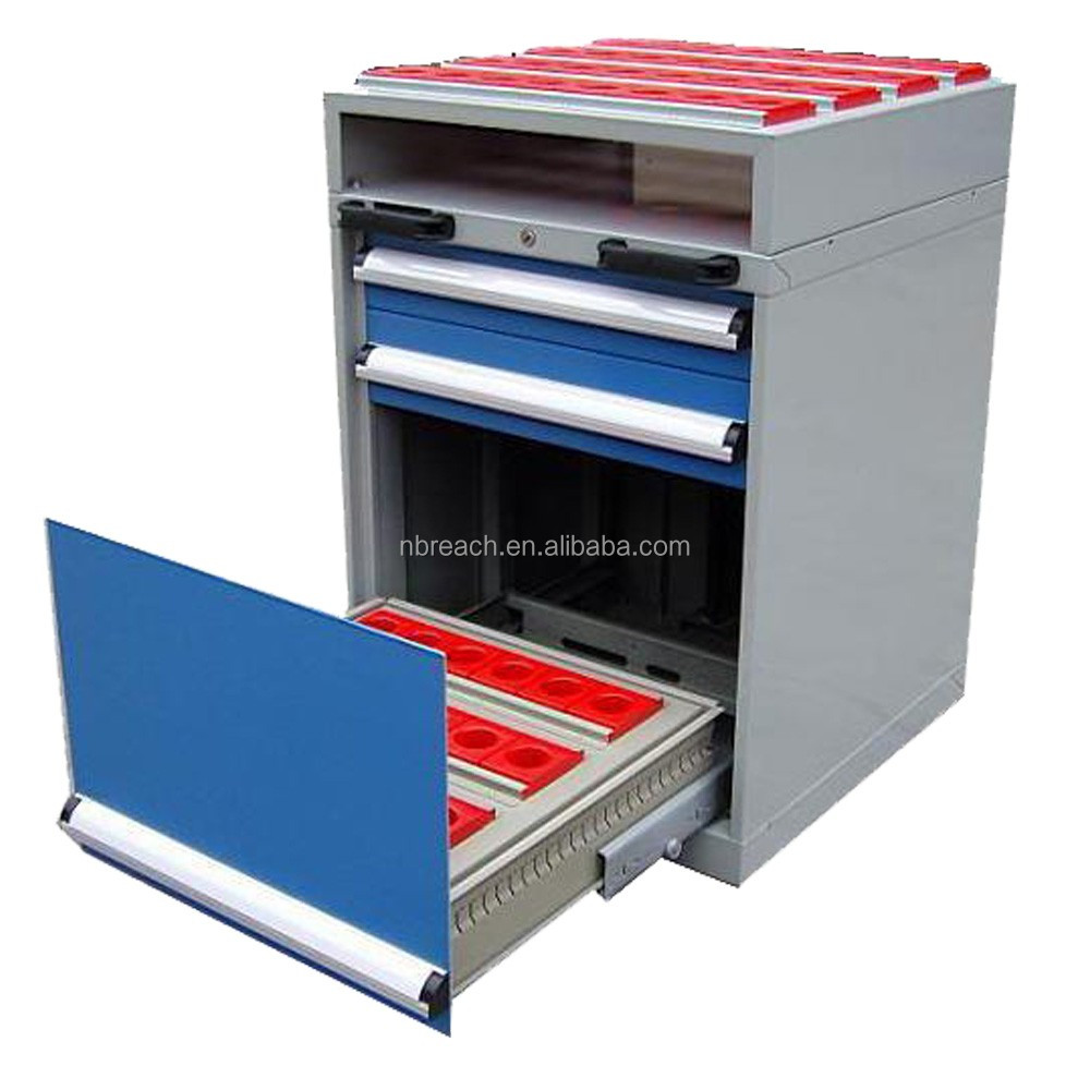 BT40 61 Position Mobile CNC Tool Holder Cabinet Combination Cabinet