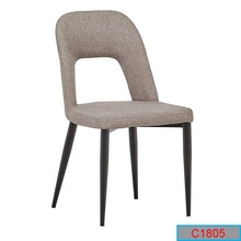 Neue Ankunft Open Back Stoff Freizeit Dining <span class=keywords><strong>Stuhl</strong></span>