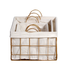 Cheap metal wire weaving frame storage baskets