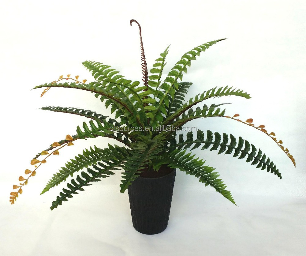 Wholesale Cheap Fake Boston Ferns Artificial Small Plants
