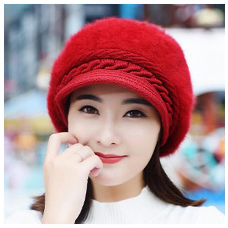 f84f000f7c9 Top Fashion New Design Women s Ladies Winter Caps Hats - Buy Women s ...
