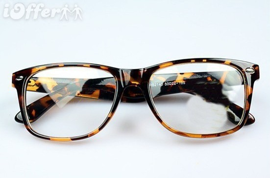 e2d20a4e5012 Get Quotations · Glasses frame glasses plain mirror decoration vintage leopard  print female non-mainstream .Eyeglasses Frames