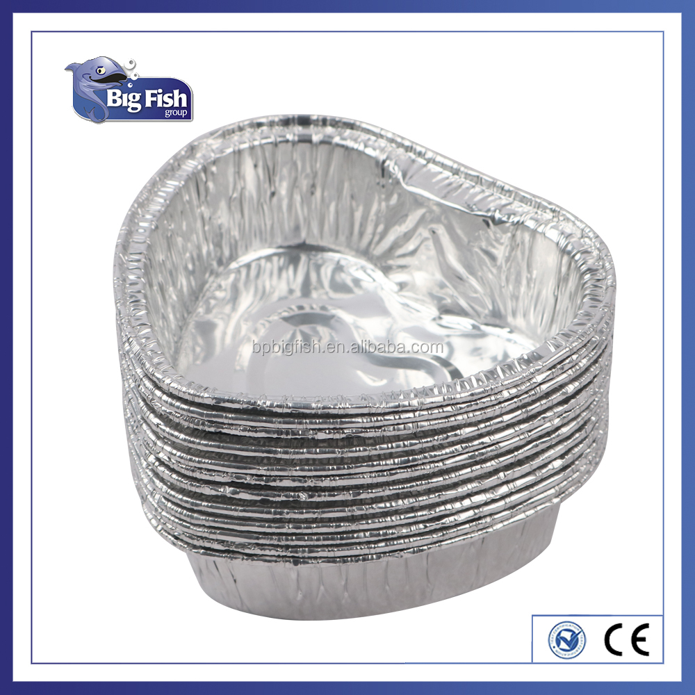 foil containers lovely heart shaped specialty aluminium foil food container cake baking mold