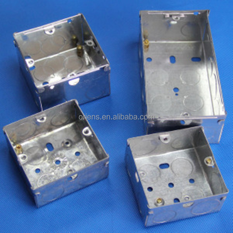 3*3/3*6 metal switch box with galvanized carbon steel
