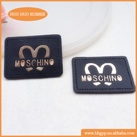 NO muninum China customize brand name fabric cloth garment label woven cheap clothing labels
