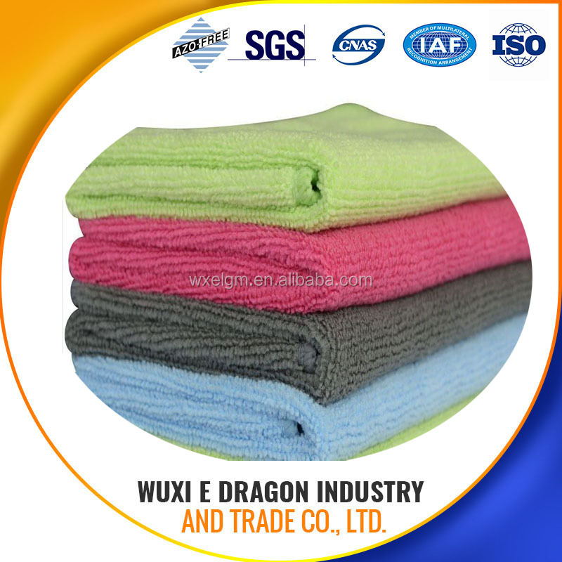 ultrasonic cut microfiber cloth , 8 years produce experience, 5 years export experience