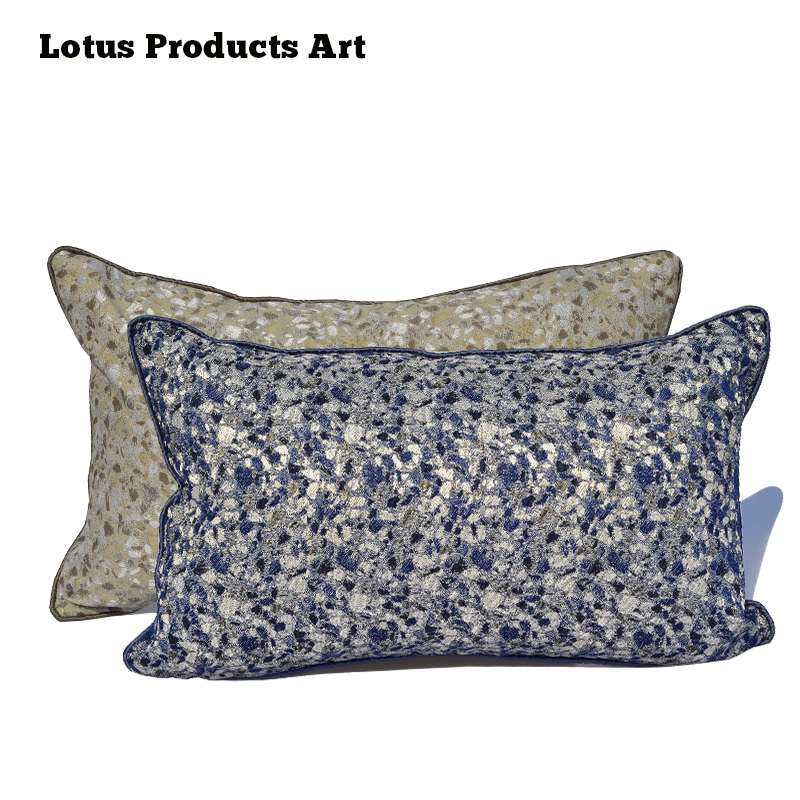 Super Custom Design Cotton Floral Ribbon Embroidery Kantha Cushion Cover